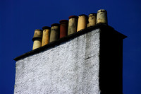 Chimneys on a building in Inverary.